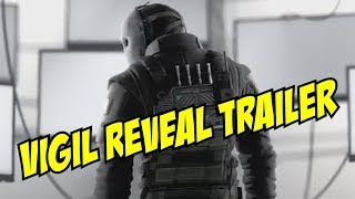 Rainbow Six Siege Vigil Reveal Trailer Korean Defender