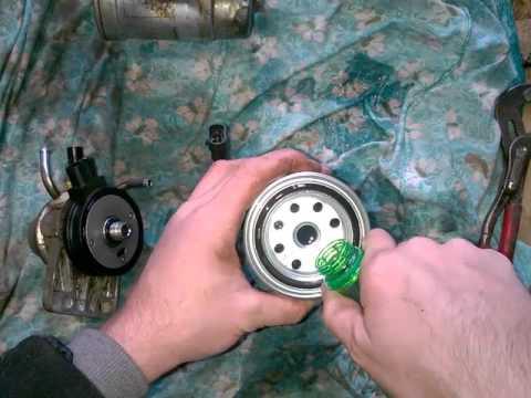 hyundai porter 2 топливный фильтр замена