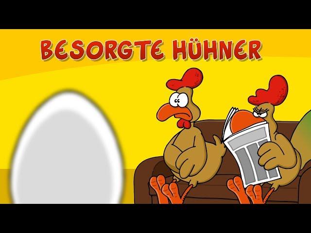 Ruthe.de - Besorgte Hühner (Werbung)