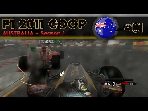 F1 2011 Coop | S1E1 - Australia | #P10ForLife