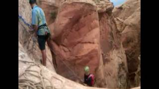 Rappelling Negro Bill Canyon