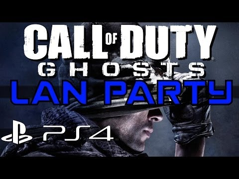 Call of Duty Ghosts on PS4 - LAN Party