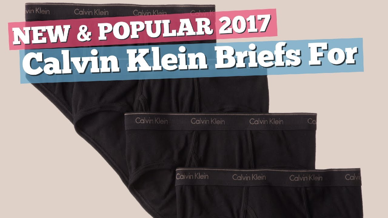 94e43e01ccd Calvin Klein Briefs For Men // New & Popular 2017