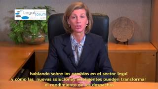 Stacey Caywood, CEO Wolters Kluwer Legal & Regulatory Solutions, estará en el LEGAL MANAGEMENT FORUM