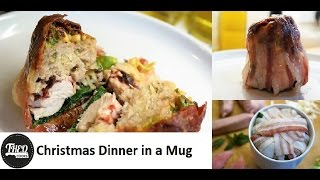Christmas Dinner in a Mug - Microwave Mug Meals by Theo Michaels - Christmas Special!