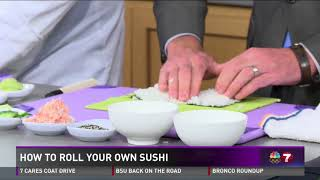 In honor of free sushi day, P.F. Chang's shows us how to roll sushi