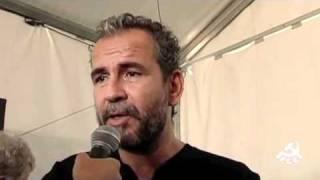 Entrevista a Willy Toledo - Fiesta del PCE 2010