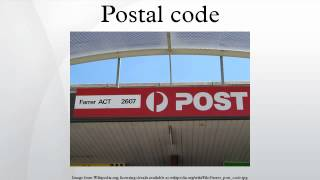 Postal code(A postal code (known in various countries as a post code, postcode, or ZIP code in USA) is a series of letters and/or digits appended to a postal address for the ..., 2014-07-31T22:08:58.000Z)