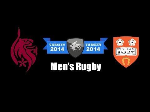 Men's Rugby | Varsity 2014
