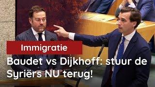 Baudet vs Dijkhoff: stuur de Syriërs NU terug!