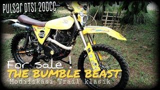 Bumble Beast l Modifikasi Trail Klasik 200cc (Basic Pulsar)