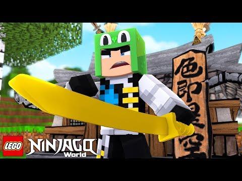 LEGO NINJAGO - NEW NINJA TRAINING #2 w/ Little Lizard