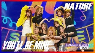 [HOT] NATURE  - Youll Be Mine , 네이처 -  썸 Show Music core 20181201