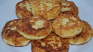 Творожники к завтраку, очень пышные и вкусные!!!