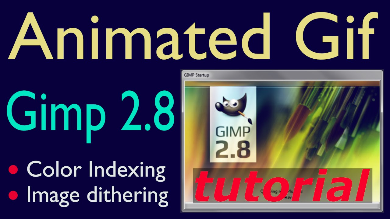 Gimp animated gif tutorial youtube negle Choice Image