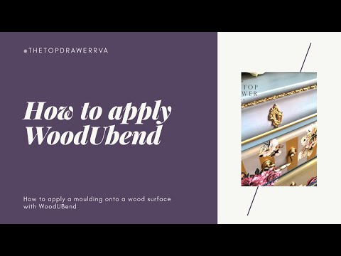 How To Apply WoodUBend Mouldings To Furniture