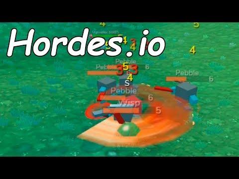 ДОТА ИО + ММО РПГ Hordes.io - Хордес ио \ Канал ио игры #IO Games