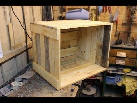 couchtisch-selber-bauen-//-palettenholz-couchtisch