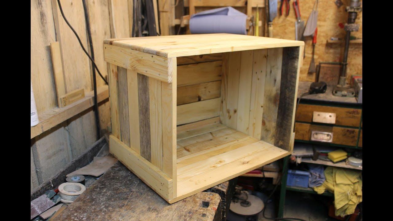 Sehr Couchtisch Aus Kisten Selber Bauen   10 Awesome Diy Pallet Ideas DP77