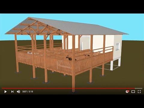 Aprisco para escola agropecu ria youtube Modelo de viviendas para construir