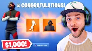 Unlocking *NEW* $1,000 Skin + Emote! (EXCLUSIVE)