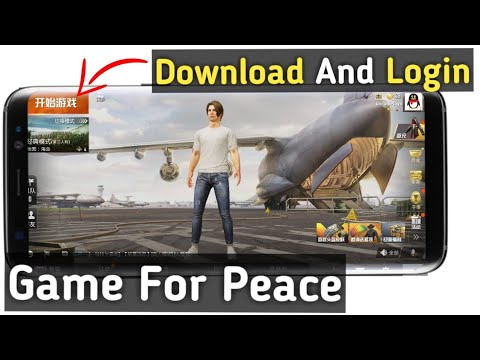 (PUBG 2) How To Download And Login Game For Peace In Hindi