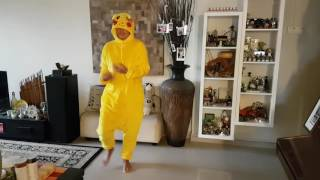 A Lost Pikachu doing the Juju on that Beat