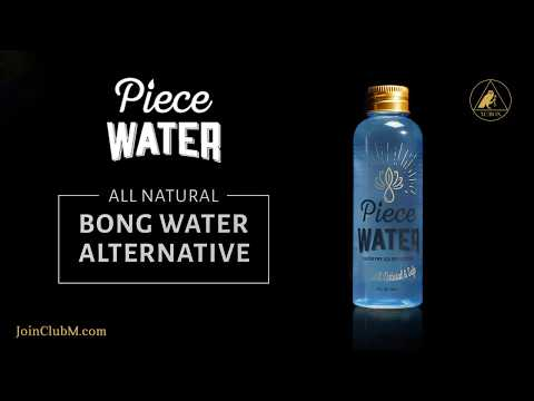 Club M Shop: Piece Water all Natural Bong Water Alternative 4 oz