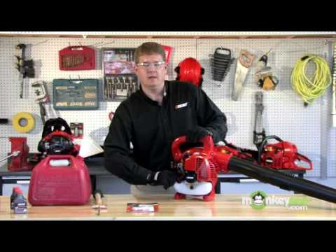 Gas Leaf Blower Maintenance & Storage