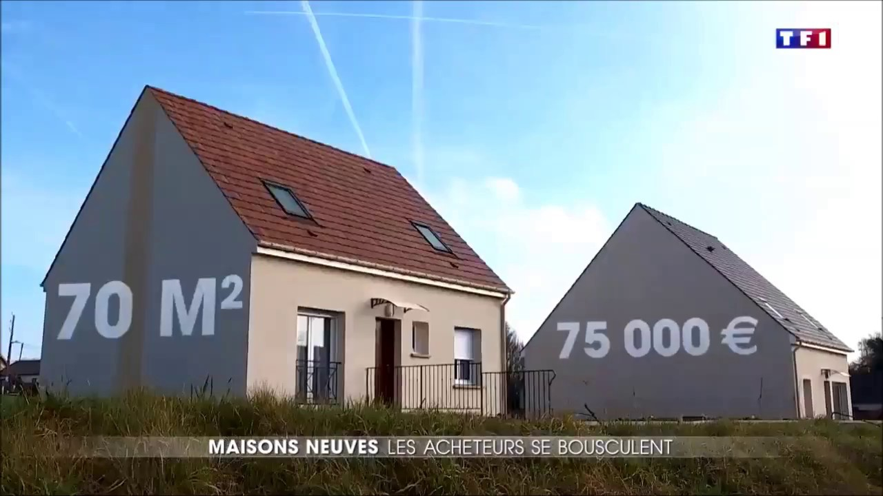 reportage tf1 maisons france confort youtube. Black Bedroom Furniture Sets. Home Design Ideas