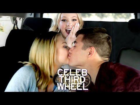 KISS ME CHALLENGE w/ JORDYN JONES | CELEB THIRD WHEEL