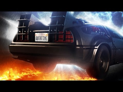 Fast & Furious + BTTF = greatest made-up movie ever