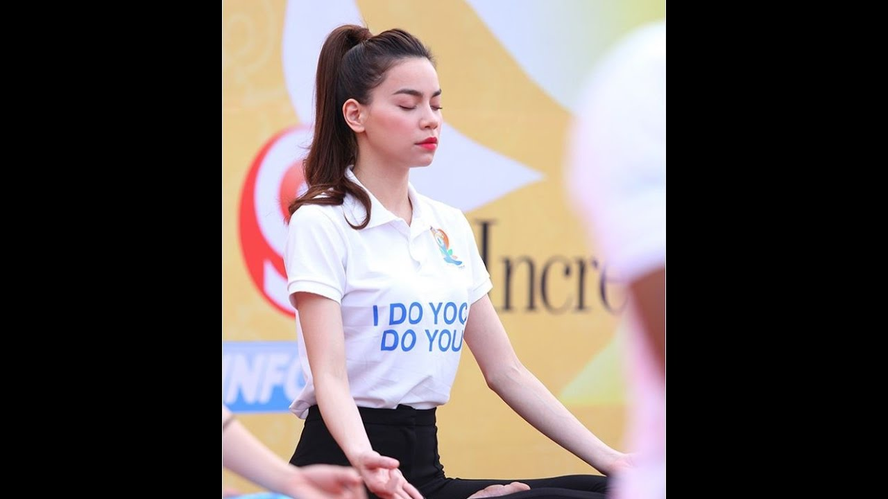 Hồ Ngọc Hà Yoga giảm cân,  giảm cân an toàn - Reviewed by Jenny Dio