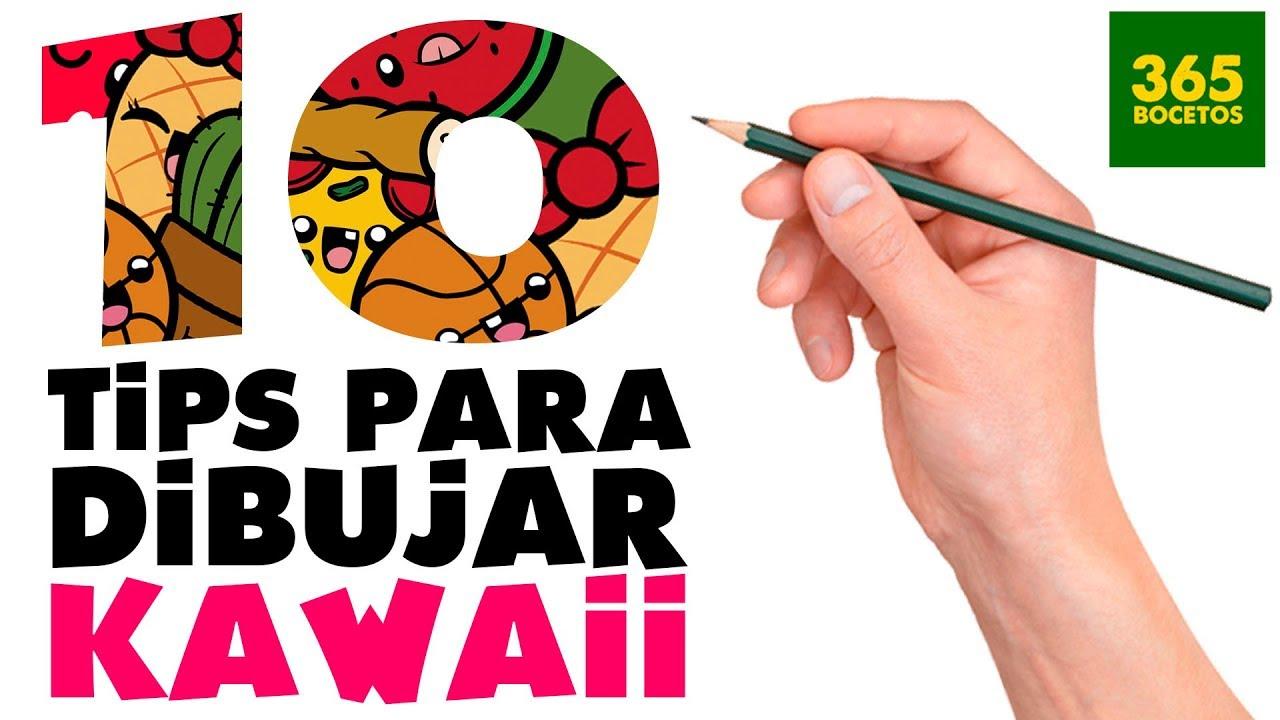 1O TRUCOS PARA APRENDER A DIBUJAR KAWAII