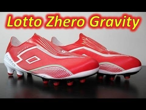 Lotto Zhero Gravity II 100 Risk Red/White - Unboxing + On Feet