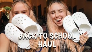 BACK TO SCHOOL SHOPPING TRY-ON HAUL