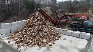 Ben Poulsons CMC firewood processor