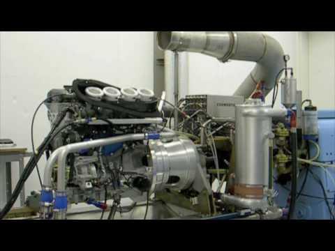 Cosworth 2.3L Engine Test