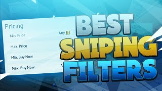 FIFA 16 - BEST SNIPING FILTERS AFTER THE UPDATE!!
