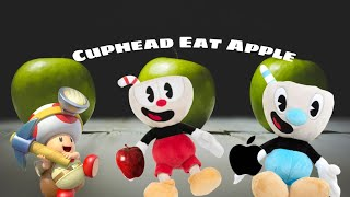 Cuphead Eat apple ft Mugman
