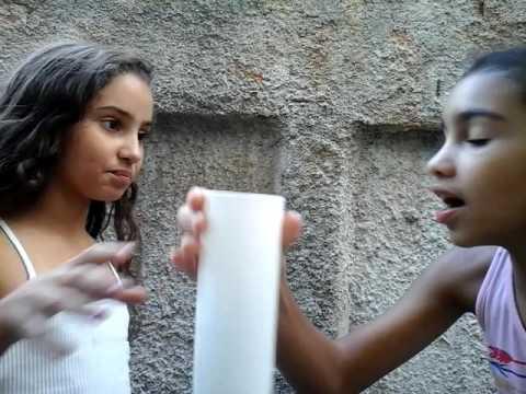 Desafio da água ft.Manu para Meninas