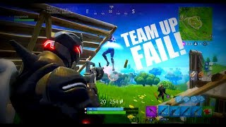 Fortnite - Team Up in SOLO cant even win 2v1  [Report Please]