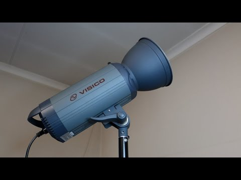 Visico VC100 LED light teardown and repair (#010) - PakVim net HD