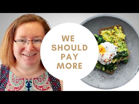 Pay More To Dine Out | How Much Should Restaurant Food Cost | Raising Minimum Wage Debate