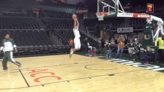 Dallas Mavericks rookie Shane Larkin big dunk