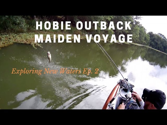 Hobie Outback Maiden Voyage | Exploring New Waters Ep. 2 | Marshall Lake