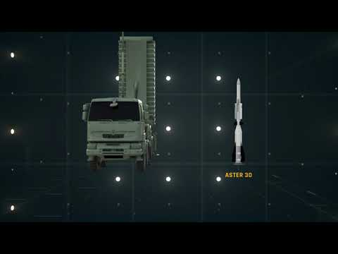 LE BOURGET 2021  MISSILES ON THE SAMP/T