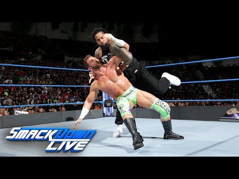 Thumbnail: The Hype Bros vs. The Usos: SmackDown LIVE, June 27, 2017