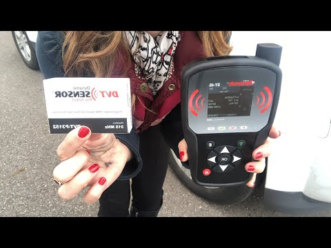 How to read, diagnose or activate TPMS sensors with the DY46 TPMS tool