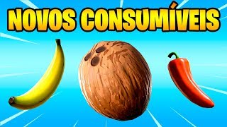 Fortnite-NEW CONSUMABLE ITEMS et CHANGES (fr) Patch c. 8,20